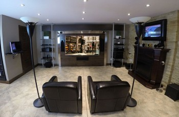 salle cinma maison toile pouces grandview d with salle cinma maison cheap big dreams u luxury. Black Bedroom Furniture Sets. Home Design Ideas